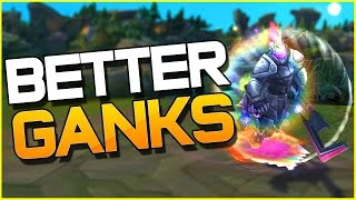 HOW TO BE A BETTER GANKER | League of Legends