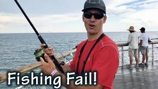 Tarpon Fishing Fail at Okaloosa Island Pier