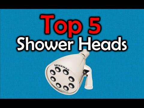 5 Best Shower Heads - Make Your Showers Better!