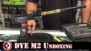 Dye M2 Unboxing Dye Precision Paintball Marker Gun Lone Wolf Paintball Michigan