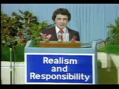 Not The Nine O'Clock News - Conservative Conference (Rowan Atkinson)