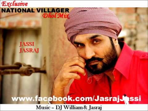 National Villager Dhol Mix:jassi Jasraj video
