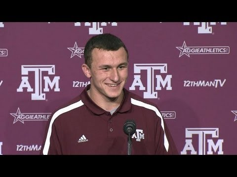 Johnny Manziel Press Conference