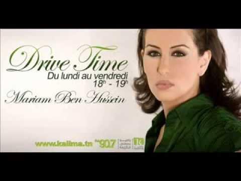 Drive Time avec Mariam Ben Hussein sur Radio Kalima Tunisie-الإربعاء 2013/05/01