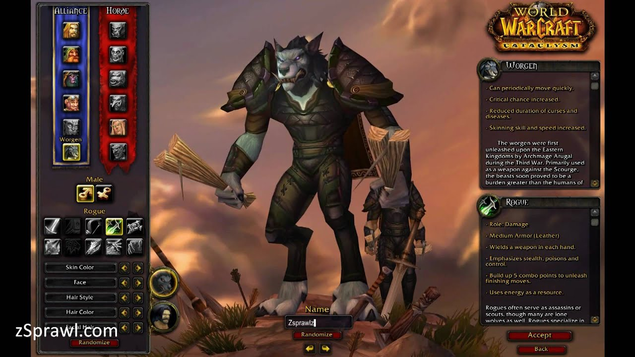 World of Warcraft sex changer nude image