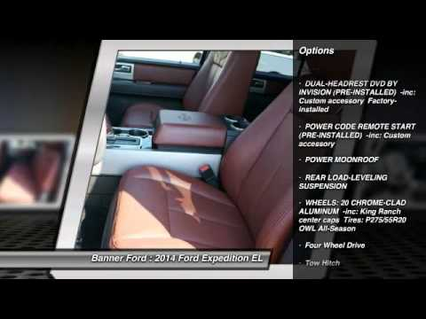 2014 Ford Expedition EL Mandeville LA T14091