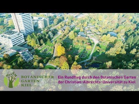 Rundflug Durch Den Botanischen Garten Kiel