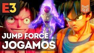 O MAIOR GAME DE ANIME: JUMP FORCE?