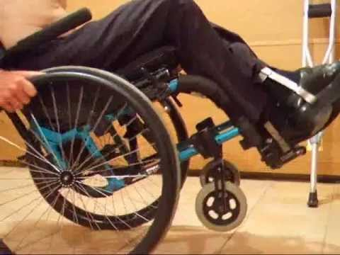 Leg braces & wheelchair
