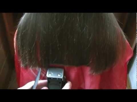 Как правильно самой подстричь кончики волос