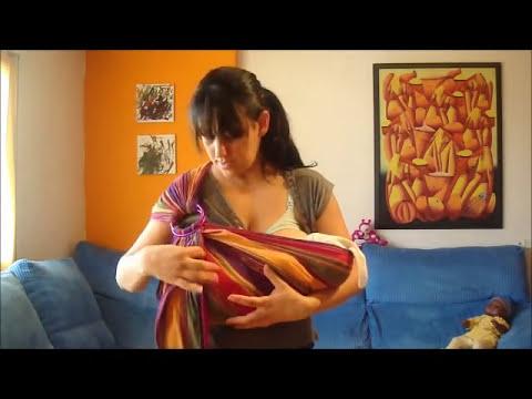Amamantar en Bandolera: posición Cuna con Recién Nacido (15 días)
