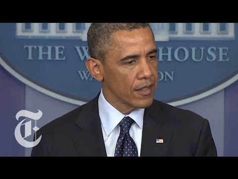 Boston Marathon Explosions: Obama Press Conference on Bomb Attacks