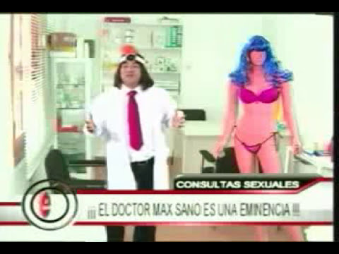 El Noticioso: Dr. Max Sano... erecciones involuntarias