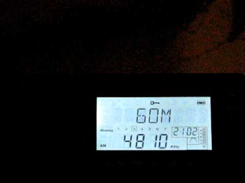 SW: Armenian National Radio 4810 KHz Yerevan, Armenia 2010-09-22