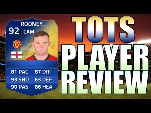 TOTS ROONEY PLAYER REVIEW - IN GAME STATS - FIFA 14 Ultimate Team