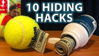 How to Make 10 SECRET Hiding SPOTS!