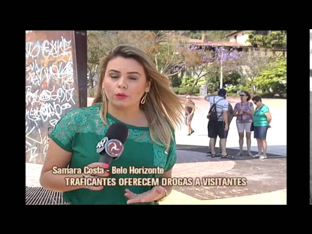 Praça do Papa, um dos principais pontos turísticos de BH, também é local de consumo de drogas