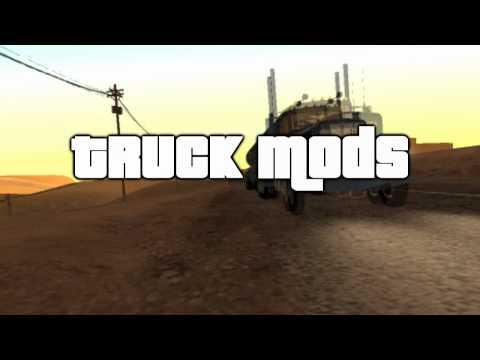GTA SA Truck Mods