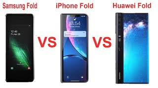 Samsung Fold vs Huawei Fold vs iPhone Fold - NEW Smartphone in 2019
