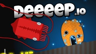 Deeeep.io - The Amazing Giant Squid! - New Animals! - Let