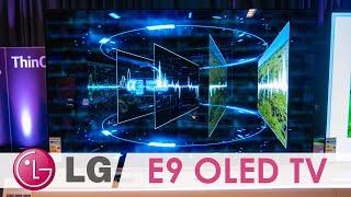 E9 OLED TV auf der LG Roadshow 2019 in der Preview! (4K / 60p)