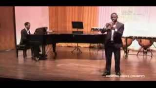 Iniobong John E. Handel Concertino for Trumpet and string finale