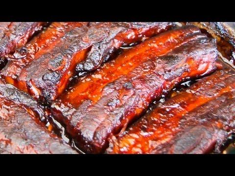Rasher Style Pork Spare Ribs - Video Recipe
