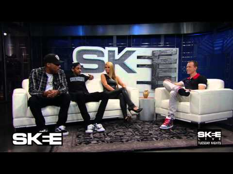 Paris Hilton, Nipsey Hussle, and Dom Kennedy On The Same Couch! Only On SKEE LIVE
