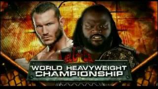 WWE Hell in a Cell Full Match Card