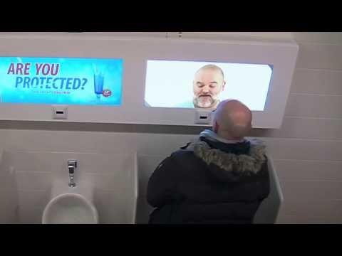 Прикол в туалете или психологический эксперимент)By Олег (c)
