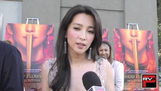 Snow Flower and the Secret Fan - Li BingBing at the