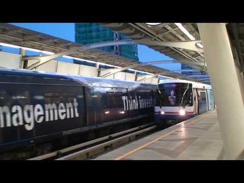 MRT or Sky Train in Bangkok