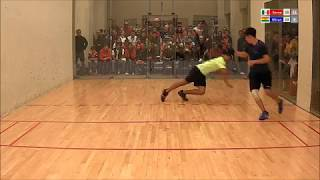 2017 Racquetball Pan Am Championships - Men's Singles QFinal - Mar MEX vs Murray CAN