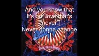 Dokken Burning like a flame lyrics