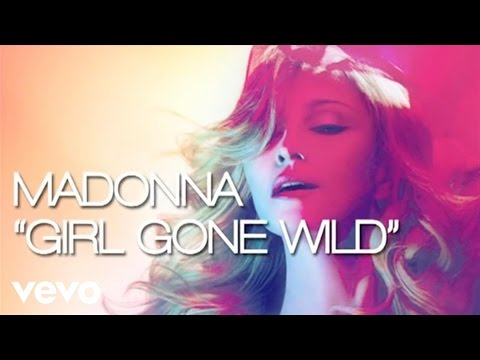Madonna - Girl Gone Wild (lyric Video) video