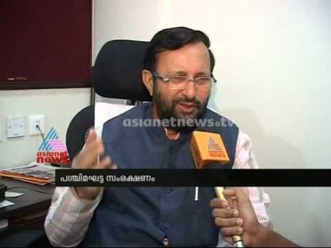 Prakash Javadekar speaks on Asianet News : Breaking News
