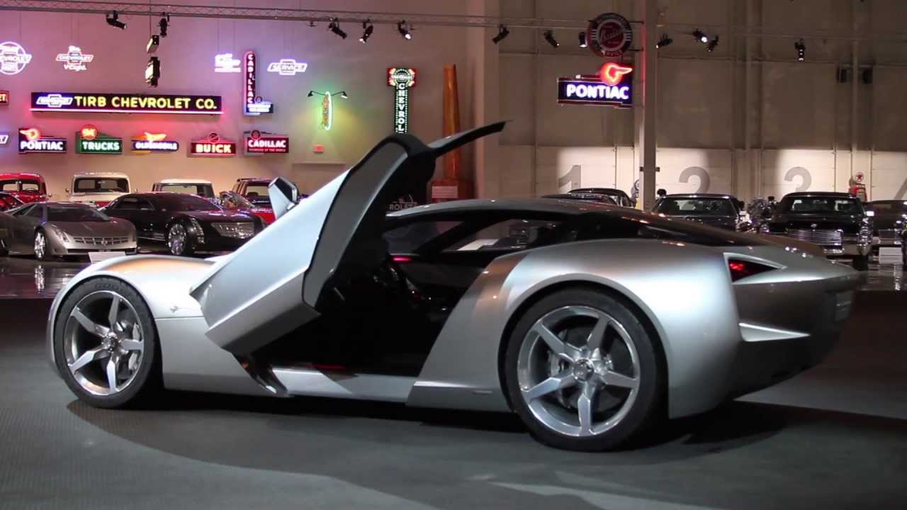 2009 Chevrolet Corvette Stingray Concept: Open door - YouTube