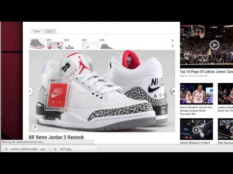Jordan Brand Restocks May 25th Details - Thunder 4s, Cement 3s, Bred 11s 2013