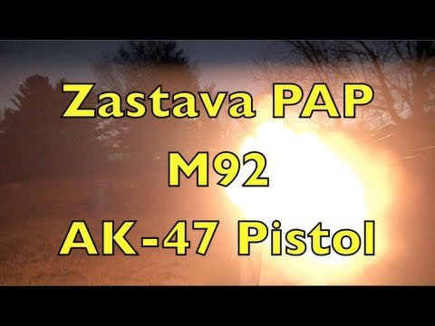 New AK-47 Pistol Shooting Action