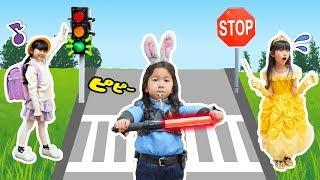 おーちゃんお巡りさんの一日♡交通整理は大騒ぎ!!himawari-CH