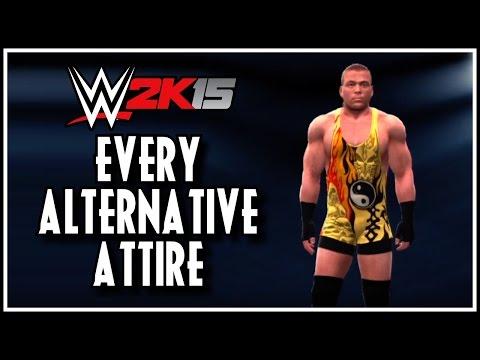 WWE 2K15 - Every Alternative Attire! (WWE 2K15 Unlockable Attires Showcase)