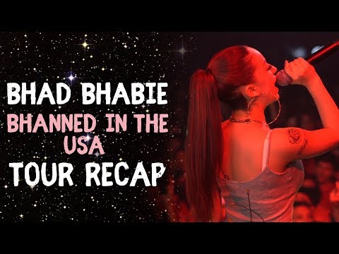 BHAD BHABIE 1st Tour - Lil Yachty in Atlanta & Tour Stories | Danielle Bregoli thumbnail
