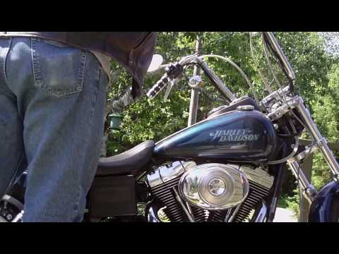 start up and walk around 2004 harley davidson dyna low rider