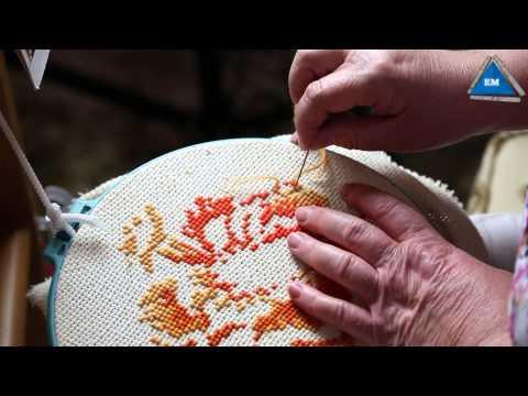 Как начинать вышивку в одну нить