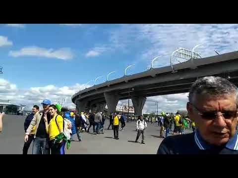 Direto da Russia: Torcedores brasileiros vivem expectativa antes do jogo da seleção