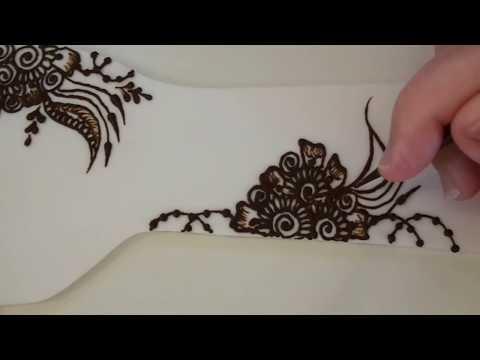 Somali Henna Design Tutorial | freehandmehndi