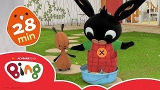Kaplaarzen & meer!   28-Min Compilatie   Bing Volledige Afleveringen   Bing Bunny Official