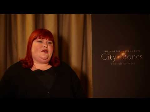 Cassandra Clare on the filming of The Mortal Instruments: City of Bones