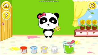 Learning Colors with Baby Panda - Baby Bus