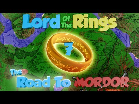 Minecraft Lord of the Rings: The Road to Mordor Ep.7 - To Bree!